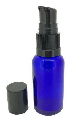 GotOilSupplies.com - 30 ml Cobalt Blue Boston Round Bottles With Cream Pumps, $9.00 (https://www.gotoilsupplies.com/30-ml-cobalt-blue-boston-round-essential-oil-bottles-with-cream-pumps/)