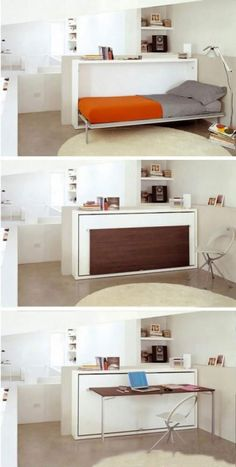 Who says the Popomo has to have one bedroom! Plus it has a work space! SWEET!