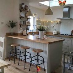 <br> Kitchen Decorating, 1970s Kitchen Remodel, 1960s Kitchen, Updated Kitchen, Kitchen Remodel Before And After, Small Kitchen Storage, Dining Room Lighting, Dining Rooms, Kitchen Lighting