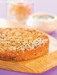 Mixed Dal Handvo ( Non- Fried Snacks ) recipe Jain Recipes, Curry Recipes, Indian Food Recipes, Breakfast Recipes, Snack Recipes, Cooking Recipes, Vegetarian Recipes, Healthy Recipes, Cooking Tips