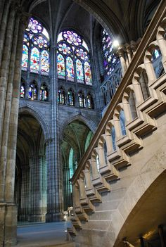 St. Denis Cathedral, Paris, France