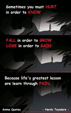 Mekakucity Actors || Anime Quotes || Nerdy Tsundere