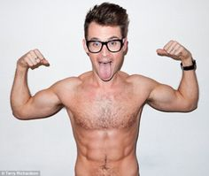 Brad Goreski Fashion Style Shirtless