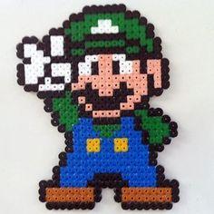 Hama Beads Mario, Perler Beads, Hama Beads Disney, Hama Disney, Mario Hama, Hama Beads Design, Hama Beads Patterns, Beading Patterns, Pixel Art
