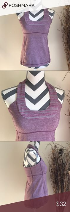 Lululemon Scoop Neck Tank Top 8 Great conditions size 8. Missing cups lululemon athletica Tops Tank Tops