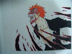 Ichigo Hollow Mask - Markers Colored Pencil