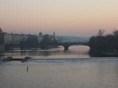Evening at Prague