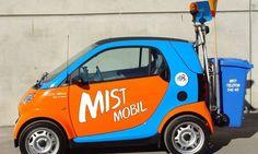NEUE  MUELLAUTOS  DER  MA 48  ' SMART MIST MOBIL ' Mists, Van, City, Vans