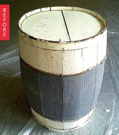 Before & After: This Crumbling Barrel is Now Oh, So Cute