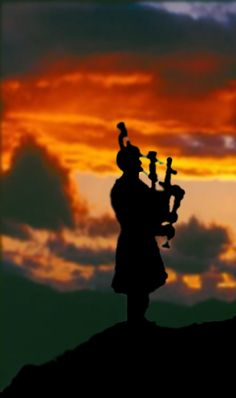 Oh Darling, we must be close......In my mind I see The Lone Piper, and I hear the bagpipe................
