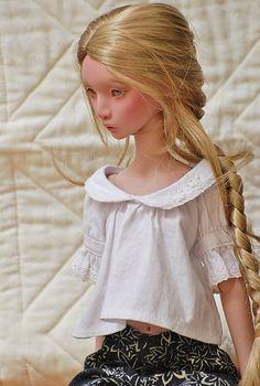 Lillycat Ninon Plum | stashraider | Flickr Doll Hairstyles, Doll Tutorial, Porcelain Doll, Anime Girl Cute, Barbie Dress, Bjd Dolls, Baby Patterns, Crochet Baby, Doll Clothes