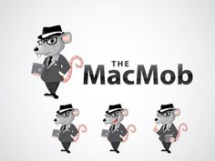 Logo design for the MacMob by dzaldian
