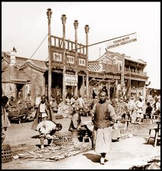OLD  CHINESE PHOTOS | THE YMCA COMES to OLD CHINA -- Missionaries in China Provide a ...