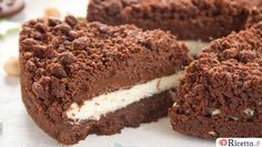 Pan di Stelle Crumbled Cake Recipe - Tips and Ingredients Nutella Recipes, Cookie Recipes, Gelato, Cooking Cake, Ricotta, Pie Dessert, Sweet Cakes, No Bake Desserts, Love Food