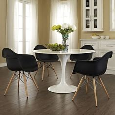 Shop for Black Wood Pyramid Eames Style Armchair (Set of 4). Get free shipping at Overstock.com - Your Online Furniture Outlet Store! Get 5% in rewards with Club O!