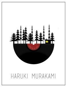 Haruki Murakami's Kafka on The Shore - Fan Art ---MOON INSTEAD OF RECORD.