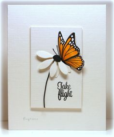 love the 3D flower and my Sizzix butterfly