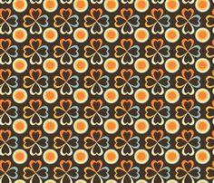 Arcoiris de Corazon. fabric by yoelis_furcal on Spoonflower - custom fabric