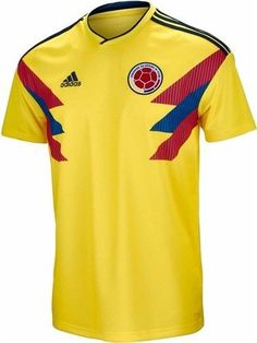 Adidas Falcao Colombia Official Home Men s Soccer Jersey World Cup 2018  Small ecc9e80d4