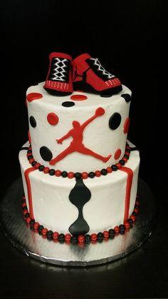 Michael Jordan Baby Shower Cake
