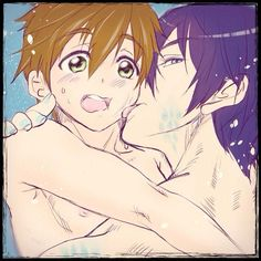 From freeslash_yama ... Free! - Iwatobi Swim Club, haruka nanase, haru nanase, haru, nanase, haruka, free!, iwatobi, makoto tachibana, makoto, tachibana, merman