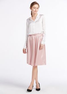 5dae8bcf4 19 Best Silk Skirts images