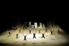 L'Envol D'Icare Opéra de Paris Garnier Set design and costumes Alain Lagarde Choreography Thierry Malandain