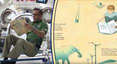 Αστροναύτες διαβάζουν βιβλία σε παιδιά από το διάστημα!