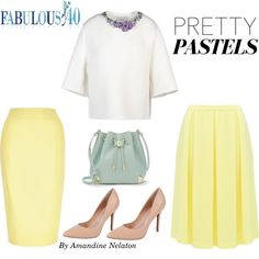 Pretty pastels are in bloom this spring.l Fabulous After 40