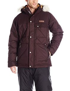 Columbia Mens Barlow Pass 550 TurboDown Quilted Jacket Medium New Cinder *** Check out this great product.(This is an Amazon affiliate link and I receive a commission for the sales)