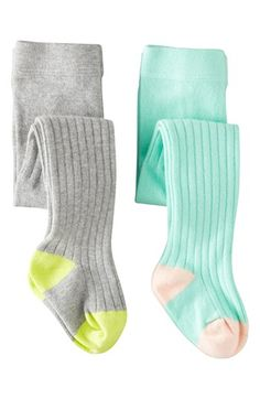 Mini Boden Ribbed Tights (2-Pack) (Baby Girls) | Nordstrom