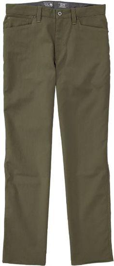 "Mountain Hardwear Men's Piero 5-Pocket Pants 32"" Inseam Peatmoss 38"