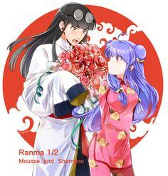 Ranma ½ - Mousse and Shampoo