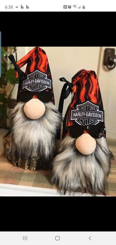 Crafts To Do, Christmas Crafts, Biker Gnomes, Hand Painted Gourds, Gnome Ornaments, Scandinavian Gnomes, Gnome House, Christmas Gnome, Craft Night