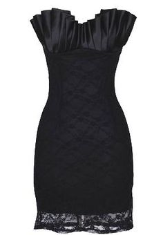 beautiful black dress! @Hannah Strope - check out this site for bm dresses maybe!?