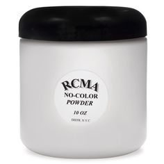 RCMA Makeup No Color Powder can be used for all powdering purposes. Because it has no filler or pigment, it will not alter the color of foundation bases. RCMA Powder will keep your foundations set and dry without caking!