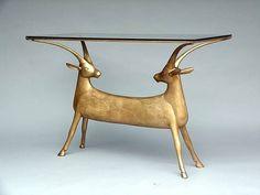 'table aux antilopes' by françois-xavier lalanne