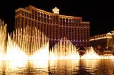 Fountains of Bellagio: One of 5 Best Photo Ops in Las Vegas! http://www.mappingmegan.com/5-best-photo-ops-in-las-vegas/