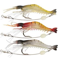 Goture Silicone Soft Bait Luminous Shrimp Fishing Lure Artificial Baits Carp Fishing Tackle Locate the offer simply by clicking the image Best Bass Fishing Lures, Carp Fishing Tackle, Fishing Bait, Gone Fishing, Best Fishing, Trout Fishing, Fishing Knots, Carp Tackle, Fishing Games