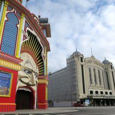 Luna Park and the Palais Theatre, St Kilda