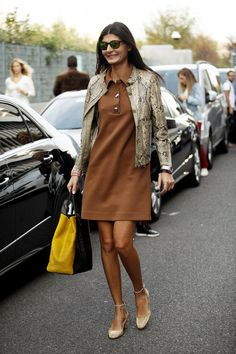 Giovanna Battaglia by tanya Giovanna Battaglia, Casual Chic, Casual Outfits, Fashion Outfits, Fashion Weeks, Estilo Fashion, Work Fashion, Milan Fashion, Fashion Black