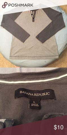 Banana Republic Shirt Henley Shirt Banana Republic Shirts Tees - Long Sleeve