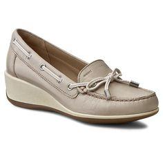 Pantofi GEOX - D Arethea A D621SA 00085 C6738 Lt Taupe