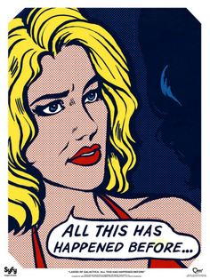 Ladies of Galactica Six Pop Art Poster is a poster for fans of battlestar galactica in the genre of science fiction Roy Lichtenstein, Art And Illustration, Andy Warhol, Kunst Poster, Pop Art Posters, Tumblr, Battlestar Galactica, Klimt, Mellow Yellow
