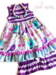 Pretty Bird dress by Pink MOMI