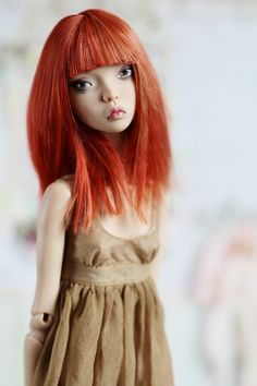 Maxi dress for Popovy Sisters Dolls and Enchanted Doll от Elcatka Pretty Dolls, Beautiful Dolls, Real Looking Baby Dolls, Big Eyes Artist, Popovy Sisters, Marina Bychkova, Broken Doll, Enchanted Doll, Sisters Art