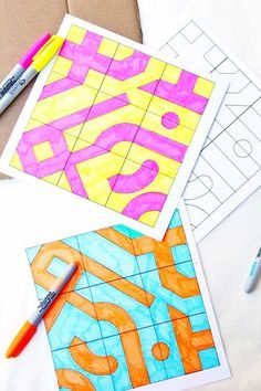 Math Game Idea: Infinity Tiles - Babble Dabble Do - Natalie Planet Smarty Pants Math Game Idea: Infi Math For Kids, Fun Math, Math Games, Family Math Night, Tangram, Math Projects, Math Art, 4th Grade Math, Homeschool Math