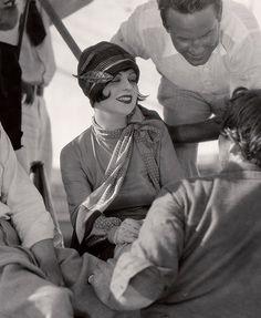 Clara Bow, 1927 via foreverclarabow