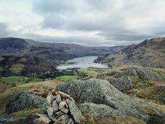 Ullswater from the top of Arnison Crag.  #thefellwanderer #thenobs #lakedistrict #cumbria #uk #england #hiking #mountains #getoutside #clouds #sky #lake #amazing #beautiful #view #landscape #nature #truemountainstories #thisismyadventure #igerscumbria #followme #instadaily  #instalike #picoftheday #photooftheday #igers #instalandscape #bestoftheday #instamood #instagood by thefellwanderer