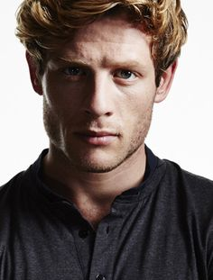 James Norton pic from agents site- sort of blonde on top with red underneath. Watching Grandchester, I want to die!